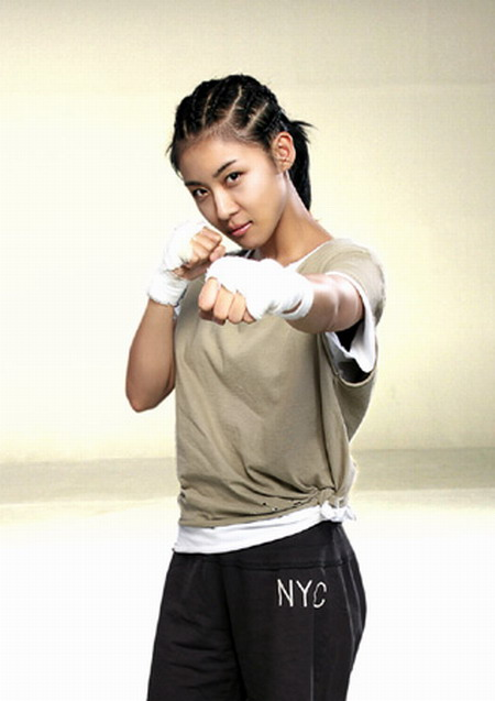 Ha Ji-won dressed to kick ass